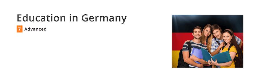 ディスカッション教材・ドイツの教育