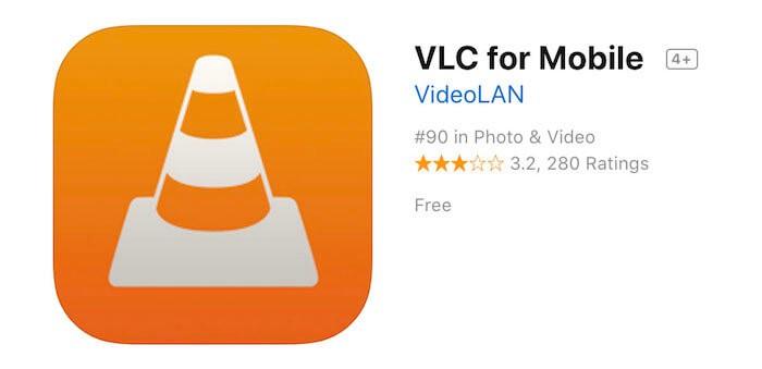 スマホ用VLCアプリ